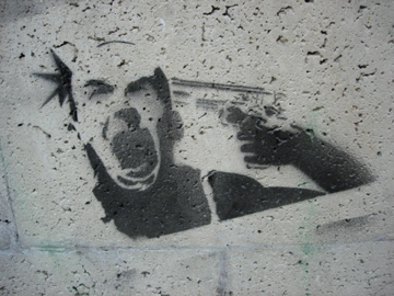 Fresh stencil in Bogota
